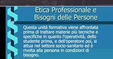 Lezioni OSS: Etica professionale e bisogni delle persone